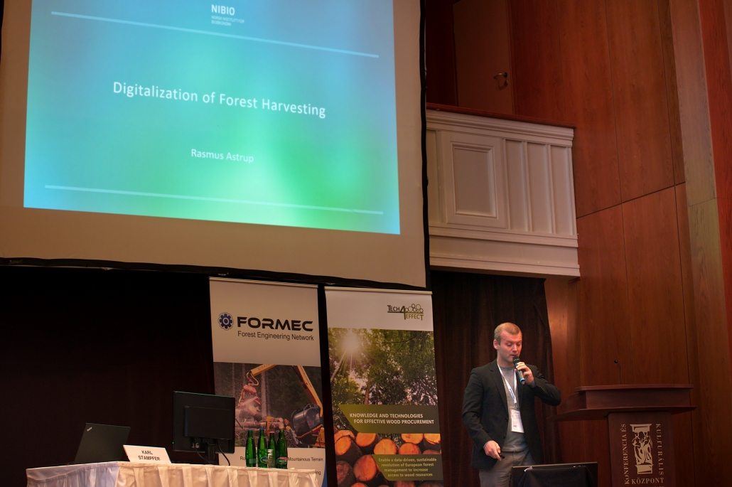 Rasmus Astrup/NIBIO held a keynote at FORMEC 2019