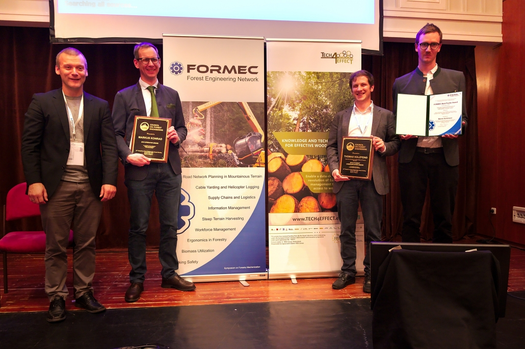 TECH4EFFECT won 3 prizes at FORMEC 2019